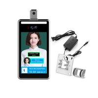 Inç Akıllı Yüz Tanıma Kumanda Kamera Sıcaklığı Yüz Sistemi Acces
