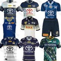 2020 2021 Cowboys 25 ans Souvenir Edition Jerseys Jerseys NRL Rugby League Jersey Cowboy 20 21 Chemises S-5XL Uniforme Haut Qualité