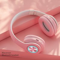 New head-mounted earphones long-life wireless bluetooth stereo foldable tour guide headset for outdoor excursions