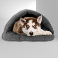 Lovely Pets Cushion Warm Cat Bed Short Plush Small Dogs Kennel Dog Puppy House Winter Slippers Style Kennels & Pens