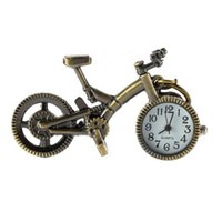 خمر البرونز الدراجة ساعة الكوارتز جيب شماعات ووتش المفاتيح السامة اكسسوارات السيارات الداخلية 2021