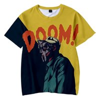 MF DOOM Tshirt Unisex 3D O-Neck Women Men's Summer Short Sleeve Harajuku Streetwear American Rapper RIP Clothes 210730