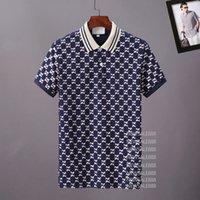 Mens Stylist Polo Camisas Luxo Itália Homens Roupas de Manga Curta Moda Casual Homens Verão T Camiseta Muitas Cores estão disponíveis Tamanho M-3XL