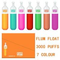 Flumer float descartável Vape Pen E Cigarros 8.0ml PODs 3000 Puffs Prefigurados 8ml Cartucho Kit de Vapor
