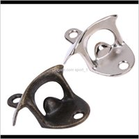 Openers Kitchen Tools Kitchen, Dining Bar Home & Garden Drop Delivery 2021 Mounted Stainless Alloy Beer Bottle Opener Use Screws Fix On The W
