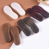 مطاط حذاء باطن إصلاح للرجال أحذية جلدية مكافحة زلة الأرض قبضة نصف داخلي استبدال diy حصيرة وسادة السادة السادة وحيد 210402