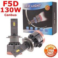 Car Headlights F5D 130W 13000LM H4 9005 9007 H11 H13 H7 LED Bulb Fog Light H8 9006 H1 880 Headlamp Kit