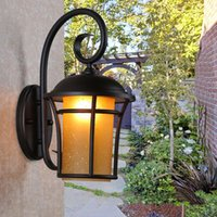 Wall Lamp Home Decorative Porch Balcony Led Waterproof Exterior Night Light Aisle Garden Outdoor Lighting Lamps