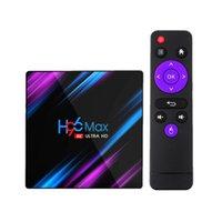 H96 MAX RK3318 Smart TV Box Android 10 4G 64GB 4GB 32GB 4K Youtube WIFI BT Media Player H96MAX TVBOX Set Top Box 2G16G Rii I8 Wireless Keyboard G10 Air Mouse
