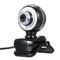 Webcams 12MP USB 2.0 Web Cam HD 480P-Kamera mit MIC-Clip-On-Basis 30FPS-Treibeless-Webcam für Laptop-Computer