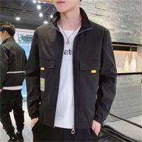 Topstoney CP Konng Gonng سترات رجالية 20ss الخريف جديد الكورية الشباب طالب أزياء العلامة التجارية معطف سليم وسيم عارضة الرجال ارتداء