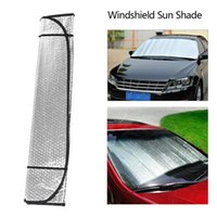 Carro Sunshade Dewtreetali 2021 Casual Dobrável Universal Windshield Visor Capa Frente Bloqueio Traseira Janela Sun Shade 1 Pcs