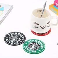 PVC Heaters Cup Thermo Thermo Holder Holder Starbucks Sea Mike Coffee Coakers Cup Cup Matnon Slip Ceramic Cup Cup Cup Muk Coaster HWD6978