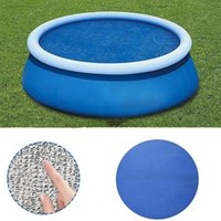 Pool & Accessories Swimming Cover Round Insulation Film Inflatable Mat Dustproof Floor Rain Cloth