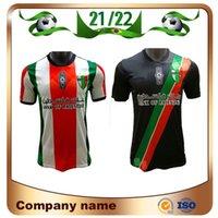 21/22 Palestino Deportivo Futbol Forması 2021 Ev Rosende Orres Cortes Campos Benegas Jimenez Maillots De Ayak Adam Futbol Gömlek Üniformaları