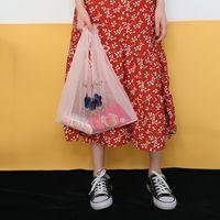 Summer Women Transparent Tote Organza Yarn Cloth Beach Bag Embroidery Handbag High Quality Eco Clear Hand Bags Purse For Girls 19040806