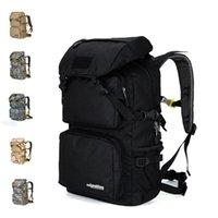 Sacos ao ar livre de alta qualidade viajar multi-função combinação camuflagem mochila exército fã caminhada montanhismo saco laptop