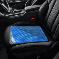 Car Seat Covers Automotive Gel Cushion Cool Summer Ventilation Ice Cooling Protection Mat Universal Cover Protector Interior Parts