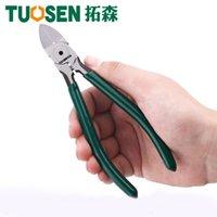 Tuosen 6 بوصة البلاستيك كماشة القوام cr-v الصلب صنع المجوهرات الكهربائية سلك كابل القواطع قطع أدوات اليد أداة كهربائي