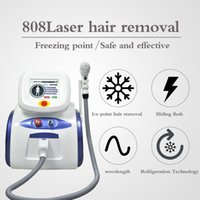 2021 High Quality Portable 808nm Painless Hair Removal Machine Beauty Device Diode Laser Machine For Home&Salon Use Beauty Equipment