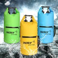 Saco impermeável marinho balde único ombro duplo bolsa à deriva sacos ao ar livre nadando bolso de secagem flutuante