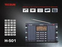 Tecsun H-501 Portable Stéréo Radio Full Band FM SSB Récepteur Dual-Horn Haut-parleur avec lecteur de musique Livraison rapide