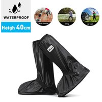 High-Top Beam Waterproof Rain Boots Thick-Soled Non-Slip Soles Shoe Protection Cover Cycling In And Snow Disposable Covers
