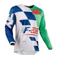 2021 Özel Logo Yaz Dağ Bisikleti Motosiklet yokuş aşağı off-road Spor ve Eğlence Uzun kollu Tişört Kulübü Ekibi Artı Boyutu Jersey