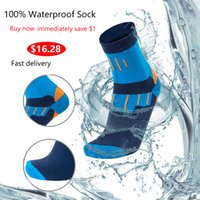 100% Waterproof Breathable Bamboo rayon Socks For Hiking Hunting Skiing Fishing Seamless Outdoor Sports Unisex dropshipping