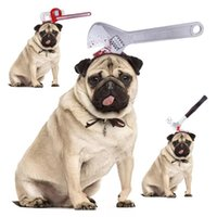Dog Apparel Halloween Cat Headwear Props Wrenches Shape Pet Funny Cosplay Clothes Decoration Hap Pography