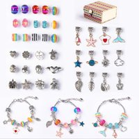 Charm Bracelet sell with package Charms Beads Accessories Diy Jewelry Christmas and Children's Day gifts for Kids