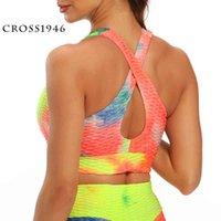 Outfit outfit Фитнес-поставки Cross1946 бегущий спортивный бюстгальтер Brassiere тренировки тренажерный зал Фитнес женские бесшовные толчок дышащего нижнего белья