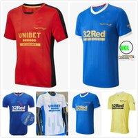 2021 2022 Rangers 150. Jahrestag Fussball Jersey Home Glasgow Training Defoe Hagi Barker Morelos Tavernier 21 22 Camiseta de Fútbol Fussball Hemden Männer + Kinder Kit Tops