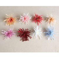 10pcs Artificial Chrysanthemum Flower Dasiy Heads Fake Silk Flowers HomeDecoration For Wedding El Room Party Accessory Decorative & Wreaths