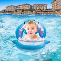 New Sharks Baby Swimming Float Inflatable Infant Floating Kids Swim Pool Accessories Circle Bathing Summer Toys Toddler Rings A0517