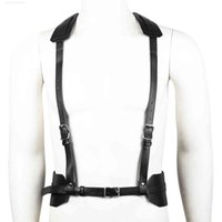 Sm Adult Fun Sex Toys Neck Hanging Shoulder Protection Leather Binding Clothes Alternative Flirting Waist