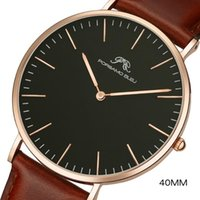 망 세련된 온라인 쇼핑 시계에 대한 40mm 남자 쿼츠 시계 저렴한 가격 EST 구매 글로벌 손목 시계