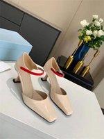 2021 Mode Mädchen Neue Kleidung Frauen T-Show Hohe Qualität High Heel Formale Schuhe Sexy Party Schuhe High Heel 7.5 edle Hochzeitsschuhe 35-41