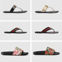 Slide Sandalet Tasarımcısı Ayakkabı Lüks Slaytlar Yaz Moda Geniş Düz Terlik Kadın Erkek Sandalet