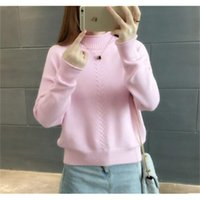Women's Sweaters Fdfklak Winter sweater women thick warm pullover jumper turtleneck knitted sweaters cashmere sweter short knit top jersey mujer 4FAG