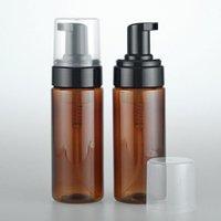 150ml Empty Amber Plastic Foaming Bottle Soap Dispenser Container 3OZ Foam-soap-Dispense Foam lotion Pump bottle DH5487