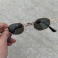 69 % OFF VAZROBE Steampunk 선글라스 남성 여성 빈티지 작은 좁은 태양 안경 레트로 스타일 UJI0