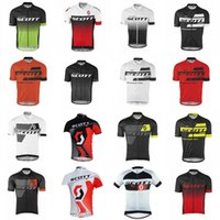 Scott Team Cycling Mangas cortas Jersey Hombres Ropa de ciclismo Jersey de manga corta 2020 Uniforme de carreras de bicicleta de carretera de verano