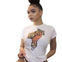Womens INS Hot Tshirts Summer Designer Dollar Printed Fashion Hot Street Tees Tops Casual Womens Clothing