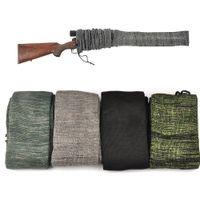 Airsoft AR 15 M4 전술 액세서리 54 인치 양말 보호 커버 가방 케이스 샷 총 사냥 촬영을위한 총 소총 범위 양말