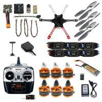 2.4G 8CH F550 RC Flugzeuge Hexacopter Unassemble DIY Rennfahrer Drohne FPV Aufrüstbar mit RadioLink MINI PIX M8N GPS Halten Sie Drohnen