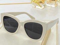 SLM75 Nova moda óculos de sol com proteção UV para mulheres vintage gato olho completo quadro popular qualidade superior vêm com casos clássicos óculos de sol