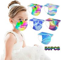 Disposable 3 layers Kids fashion mask  Dolphin Butterfly dinosaur Designer Face Masks Non-Woven Anti-Dust top quality
