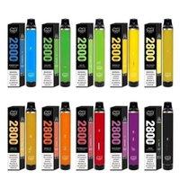 Puff flex jetable E-Cigarettes électroniques KIT DE DISPOSITIF POD 1500MAH BATTERIE 10ML PODS Cartouche Vape 2800 Puffs Pen de vapeur pour Bang Bar Plus XXL MAX Stylos