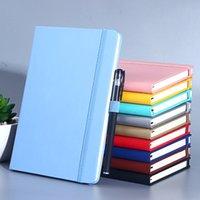 A5 노트북 비즈니스 두꺼운 학생 메모장 붕대 일기 책 인쇄 가능